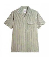 Homecore Stripes S/s Shirt - Groen