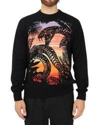 Just Cavalli Pullover - Zwart