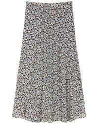 Marc O'polo Maxi Skirt - Blauw