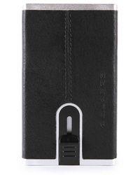 Piquadro Compact Wallet - Zwart