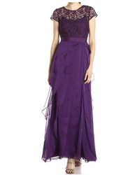 Adrianna Papell Dress - Paars