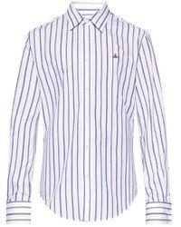 Vivienne Westwood Shirt with logo - Weiß