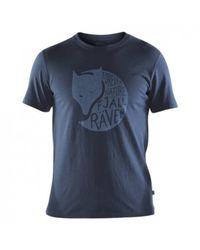 Fjallraven Forever Nature T-shirt - Blauw