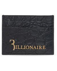 Billionaire Leather card case - Noir