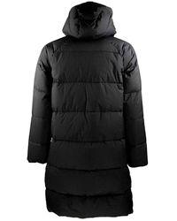 Horspist Long down jacket Foam Negro
