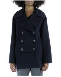 Sportmax - Double-breasted jacket - Lyst