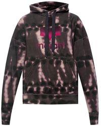 Burberry - Tie-dye hoodie - Lyst