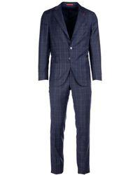 Isaia Suit - Blauw