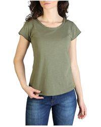 Yes-Zee T-shirt T206_s400 - Groen