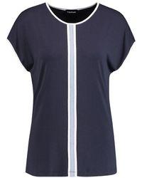 Taifun Shirt 571009-16011 - Blauw