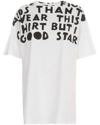 Maison Margiela Cotton Jersey T-shirt - Wit