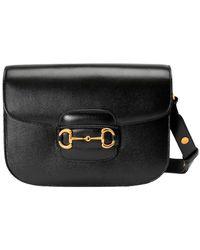 Gucci Horsebit Crossbody Bag - Zwart