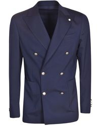 Luigi Bianchi Mantova Jacket - Azul