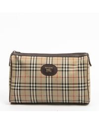 Burberry Pre-owned Toiletry Pouch - Naturel