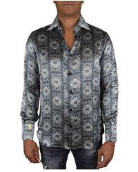 Billionaire Silk Shirt - Zwart