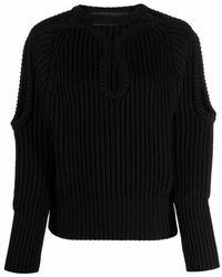 Les Hommes Sweater - Schwarz
