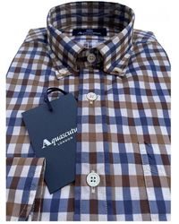 Aquascutum New Tailor Shirt Azul