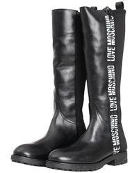 Love Moschino Boots Negro