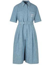 Fendi Jumpsuit - Blauw