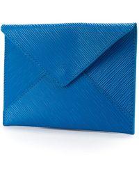 Louis Vuitton Envelop Uitnodiging - Blauw
