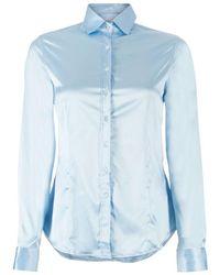 Robert Friedman Shiny blouse - Blu