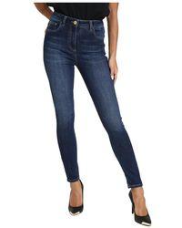Elisabetta Franchi Slim Fit Jeans - Blauw