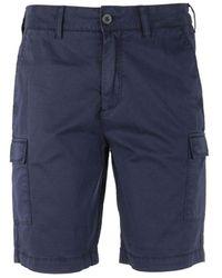 Lyle & Scott Cargo Shorts - Blauw