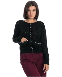 K-Way Crew Neck Sweater - Zwart