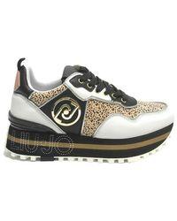 Liu Jo Scarpe Sneakers Maxi Wonder 24 Ds21lj15 Ba1069px138s1005 - Zwart