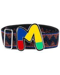 M Missoni Belt - Blauw