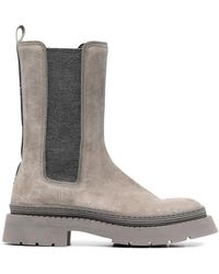 Brunello Cucinelli Boots - Grijs