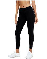 Nike Mallas Entrenamiento Mujer - Zwart