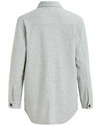 Object Jmeza L/S Shirt 114 - Grau