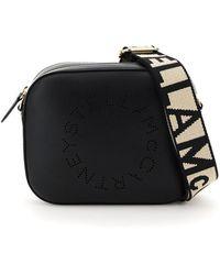 C.P. Company Camera Bag With Perforated Stella Logo - Zwart