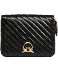Pinko Taylor Wallet Zip-around - Zwart