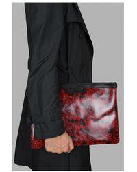 Jimmy Choo Derek clutch bag Rojo