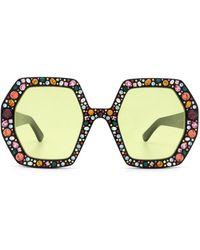 Gucci Glasses - Zwart