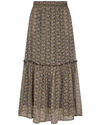 co'couture Adore Flower Gipsy Skirt - Naturel