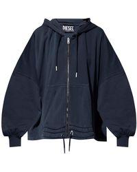 DIESEL Oversize Sweatshirt - Blauw