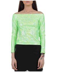 Liu Jo Off shoulder blouse - Vert