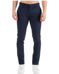 Michael Kors Men's Trousers Pants Skinny - Blauw