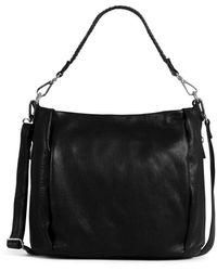 Still Nordic Cammy Hobo Shoulder Bag - Zwart