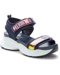 KEDDO Casual Wedge Sandals - Blau