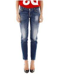 DSquared² Jennifer Jeans - Blauw