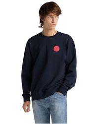 Edwin 45121mc000122 Japanese Sun Sweater - Blauw