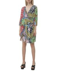 Boutique Moschino Dress with Print Verde