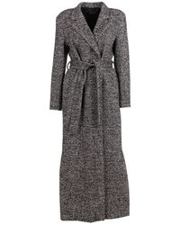FEDERICA TOSI Long Coat - Zwart