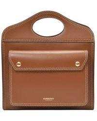 Burberry Handbag Mn Pocket - Bruin