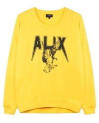 Alix The Label Sweatshirt 203895591-406 - Geel