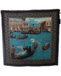 Dolce & Gabbana - Venice Wrap Cashmere Shawl - Lyst